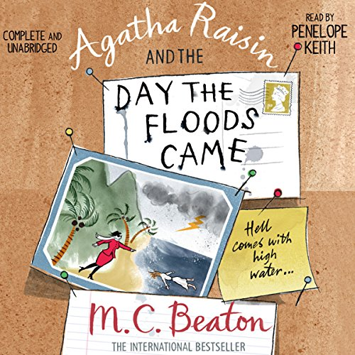 Agatha Raisin and the Day the Floods Came audiobook cover art