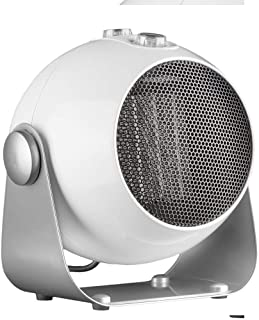 ZP-Heater Calefactor Eléctrico Cerámico ,1800Wfunción Silence3 Modos Ajustables Protección contra Volcado y Sobrecalentamiento para Cuarto/Baño/Oficina