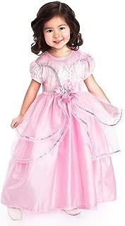 Little Adventures Royal Pink Princess Dress Up Costume for Girls