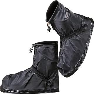 Life-C Black Waterproof Snow Rain Shoes Covers Women Men XXL