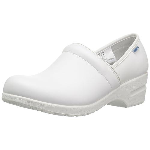 71b6e7f222a5b7 White Nursing Shoes  Amazon.com