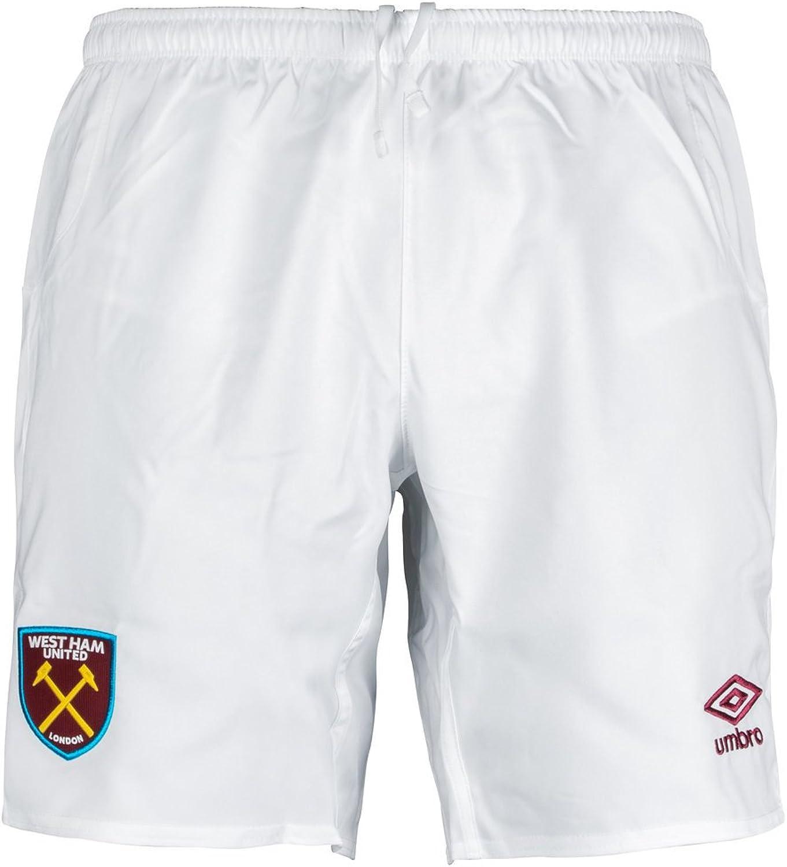 20172018 West Ham Home Football Shorts (White)