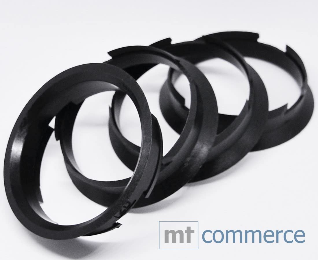 Crk 4x Zentrierringe 63 4 X 60 1 Mm Schwarz Felgen Ringe Made In Germany Auto