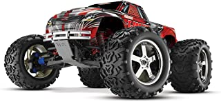 Traxxas T-Maxx 3.3: 1/10 Scale Nitro-Powered 4WD Monster Truck with TQi 2.4GHz Radio and TSM, Red