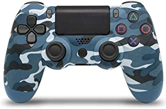 $31 » with Light Bar 4th Generation PS4 Controller Wireless Bluetooth Artifact PS4 Game Handle 1 Pack Blue Camo (Snowflake Key)