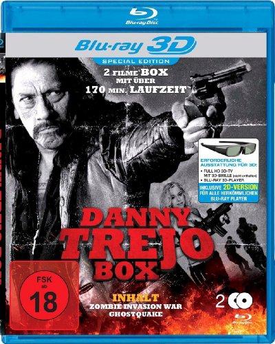 Danny Trejo Box (176 Minuten Action) 3D [3D Blu-ray]