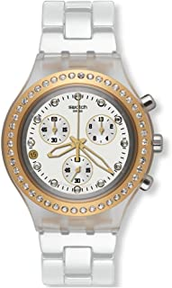 Swatch quartz, watch, unisex full-blooded, marvelous, yellow, 43.0 mm