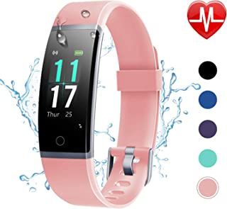 Letsfit Fitness Tracker HR, Activity Tracker with Step...