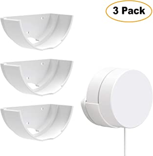 Google WiFi 3 Pack Wall Mounts, Google Router Mounting Bracket, Best Design for Winding Power Cord, Fits Snugly to Google WiFi 3 Pack