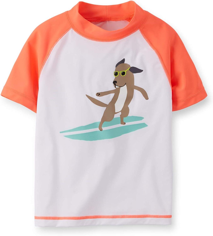 Carter's Baby Reservation Boys' Surfer Dog Months White - Rashguard Boston Mall 12