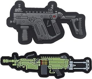 Military Ba Light Machine Gun PVC Morale Patch