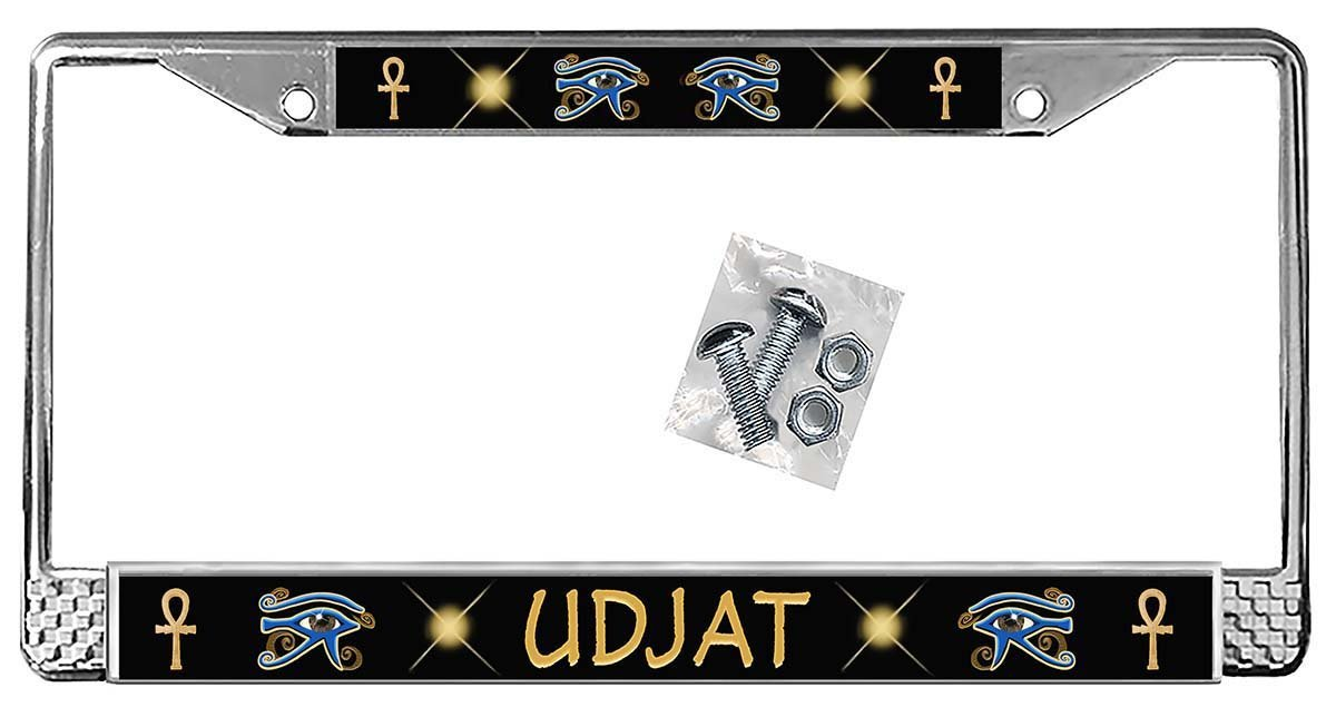 Egyptian Eyes of Ra Auto Sales for sale Plate License Atlanta Mall Personalize Frame