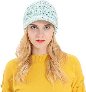 41ad0679168 Women Fashion Hats,Women Men Autumn Winter Beanie Hat Knitting Wool Warm  Hats Earmuffs Hat