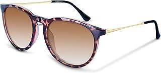 Vintage Round Polarized Sunglasses for Women Classic...