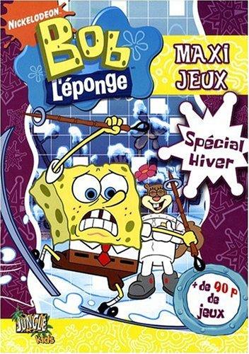 Bob l'éponge: Maxi jeux spécial hiver