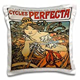 3dRose Cycles Perfecta Jugendstil Vintage Fahrräder