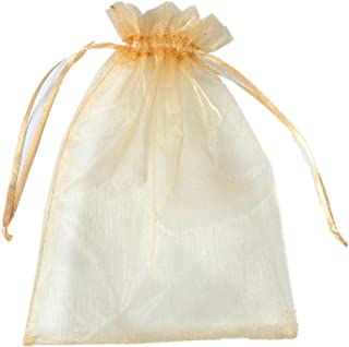 USFEEL 50pcs Organza Draw String Wedding Favor Bags Party Decoration Gift Candy Pouches (5