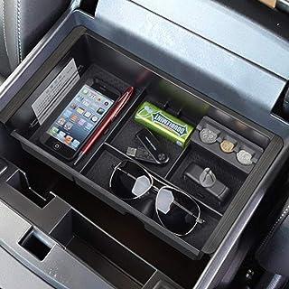 EDBETOS Center Console Organizer Tray for 2014-2018 GMC Sierra 1500 / Chevy Silverado 1500 and 2015-2019 Sierra Silverado ...