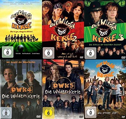 Die wilden Kerle 1 + 2 + 3 + 4 + 5 + 6 (6 DVD's)