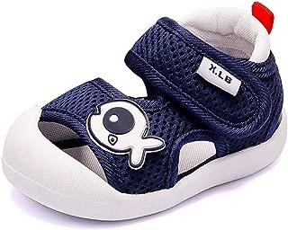QGAKAGO Toddler Baby Boys or Girls Breathable Mesh Running Sneakers Summer Sandals