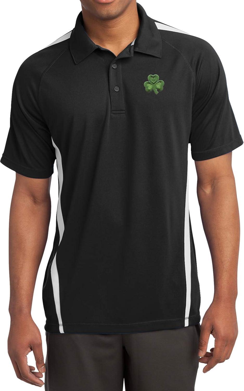Buy Cool Shirts St Patricks Day Micro Mesh Print Shamrock Pocket 送料無料激安祭 激安