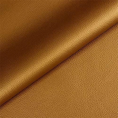 Tela de piel sintética, estampado de lichi, tela sintética de vinilo suave de poliuretano, para pendientes, zapatos, bolsos, arcos, cartera, manualidades,...