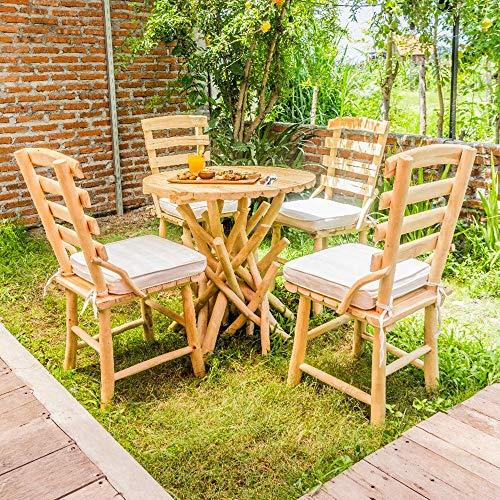 Atypik Home Salon extérieur en Bois