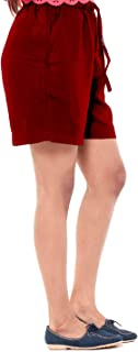 EASY 2 WEAR ® Womens Cotton Rayon Fabric Shorts (Size S to 4XL) Comfort FIT and Plus Sizes