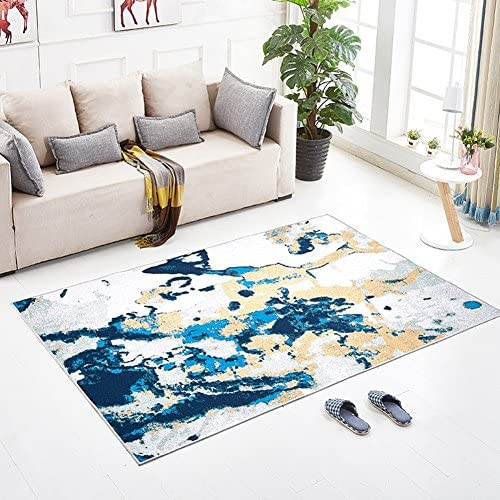 C-Bin-1 Graffiti Stil Teppich, Wohnzimmer Sofa Nachtdecke Tee Tischset Baby Klettermatte Haushalt Bodenmatte L e 40-140cm   Textilteppich (Farbe   B, Größe   120  180CM)