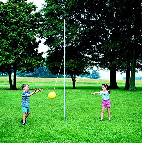 Kelpro In-Ground Tetherball Pole, 12 Feet x 1-1/2 Inches, Steel