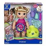 Baby Alive E0609GC0 Töpfchentanz (Blondhaarig), Funktionspuppe-kann sprechen, tanzen und auf das...