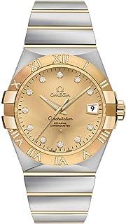 Omega - Constelación Champagne Dial con marcadores de diamantes reloj de lujo 123.25.35.20.58.002