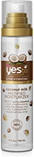 Yes To Coconut NEW Ultra Hydrating Coconut Milk Mistified Moisturizer - 4 Fluid Ounce | For Dry Skin | Coconut Milk and Coconut Oil for Ultra Luxurious Hydration