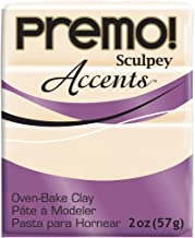 Sculpey PE022-5310 Polyform Premo Accents Sculpey Polymer Clay, 2-Ounce, Translucent