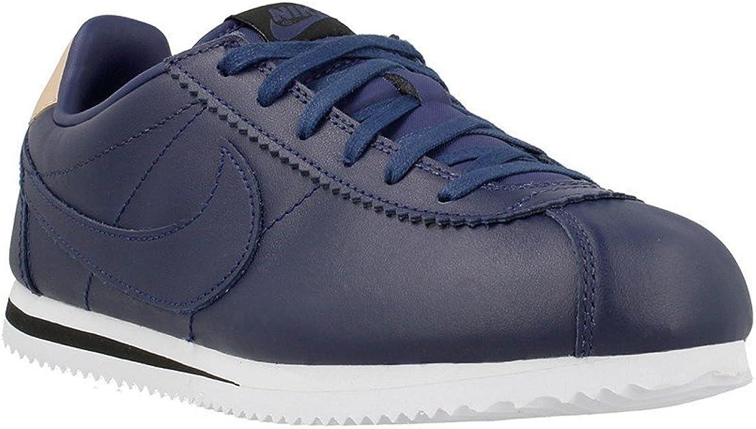 Nike - Cortez SE GS - 834303401 - Couleur: Bleu marine - Pointure ...