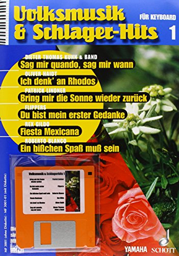 Volksmusik und Schlagerhits: inkl. MIDI-Disketten. Paket Bände 1-7. Keyboard. (Music Factory)