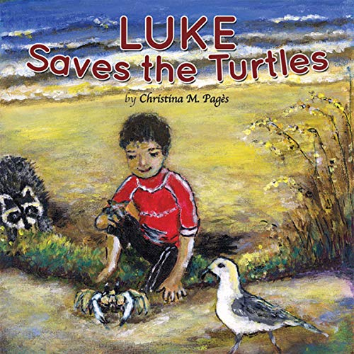 Luke Saves the Turtles audiobook cover art