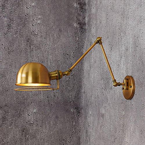 JJZHG Wandlamp, waterdicht, retro/nacht/slaapkamer/persoonlijkheid/creatief/woonkamer/restaurant/boven/links/rechts/instelling/ijsen/lange arm.