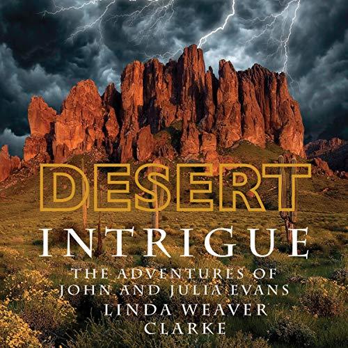 Desert Intrigue audiobook cover art