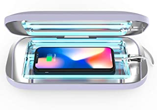 PhoneSoap Pro UV Smartphone Sanitizer & Universal Charger | Patented & Clinically Proven 360 Degree UV Light Disinfector |...