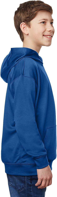 Gildan Youth Performance Tech Hooded Sweatshirt (G995B) -Sport Roya -XL