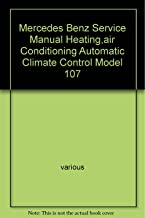 Mercedes Benz Service Manual Heating,air Conditioning Automatic Climate Control Model 107