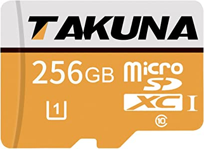 TAKUNA 256GB Micro SDXC Card High Speed Memory Card With Card Adapter...
