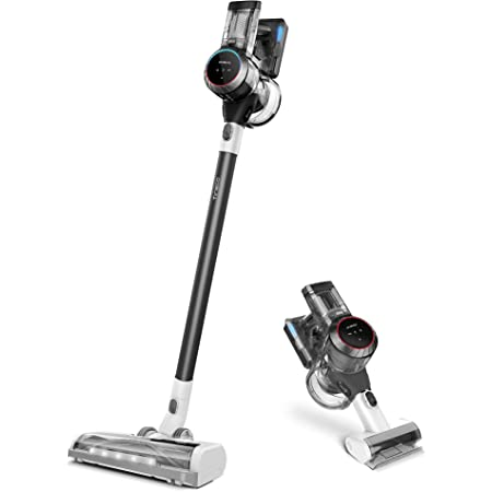 Tineco S11 Cordless Vacuum Cleaner, Smart Stick Handheld Vacuum Strong Suction & Lightweight, Cordless Handheld Vacuum Deep Clean Hair, Hard Floor, Carpet, Car (Pure ONE S11 Grey)
