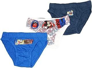 Disney NUOVO personaggio 2 Pack Boxer Per Bambini Ragazzi /& Bambino CARTOON Vendicatori