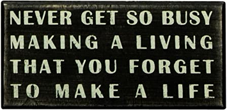 never forget to make a living
