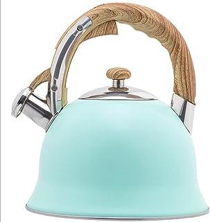 Keukengerei Blauwe fluitketel met grote capaciteit 3,5 l grote fluitketel in Europese stijl