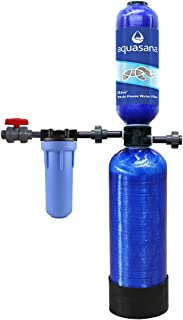 Aquasana Whole House Water Filter System - Filters Sediment & 97% Of Chlorine - Carbon & KDF Home Water Filtration - 6  Yr, 600,000 Gl
