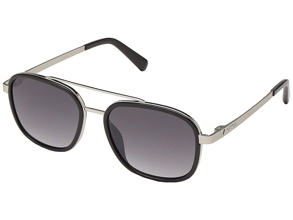GUESS GU6950 (Shiny Black/Smoke Mirror) Fashion Sunglasses