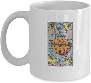 Sponsored Ad - Wheel of Fortune Tarot Card Coffee & Tea Mug